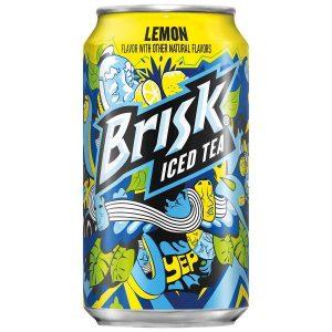 Té Helado Lipton Brisk, Sabor A Limón. 355 ml (12 fl oz).