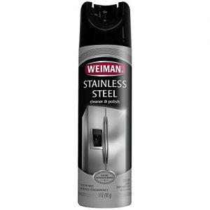 Limpiador de acero inoxidable Weiman