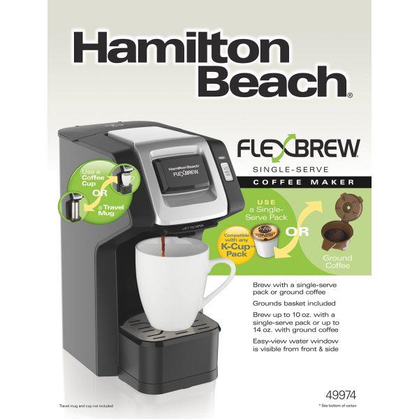 Cafetera Para Un Solo Uso, Hamilton Beach.