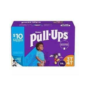 Pañales Estilo Ropa Interior Para Niños, De Talla 3T Y 4T, Huggies. (116 Unidades).