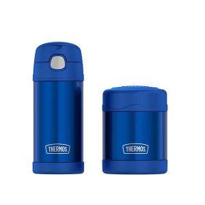 Set De Termos Termicos Para Niños Color Azul. , Thermos FUNtainer. 355ml (12 Oz 9) /10 Oz (290 ml)