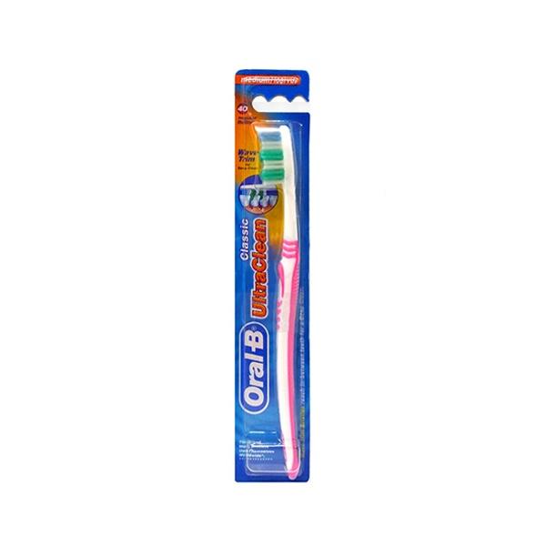 Cepillo De Dientes, Clasico Ultra Clean De Colores Variados, Oral-B.