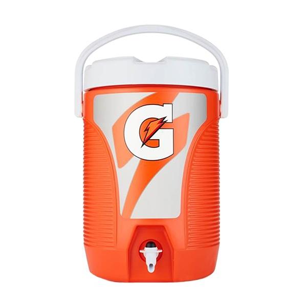Dispensador De Agua Portátil, Color Naranja. Gatorade. 11.3 L (3 Gal ).